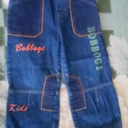 Jeans for height 100 cm