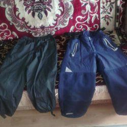 Непромокаемые штаны от 4 лет