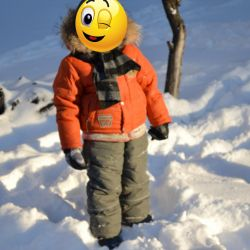 Winter suit Kiko, size 110