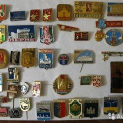 USSR badges