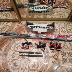 Лыжи Atomic Новые!