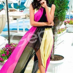 Платье 3 цветное