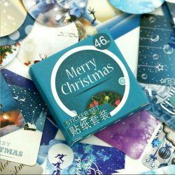 Christmas stickers 45pcs