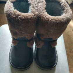 High fur boots-winter boots size 25