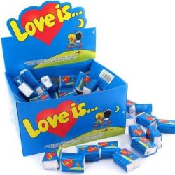 Chewing gum Love is Block 100 pcs.