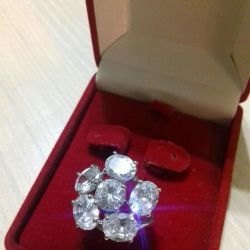 Κρυστάλλινα δαχτυλίδια Swarovski