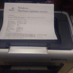 принтер HP LaserJet P 1006