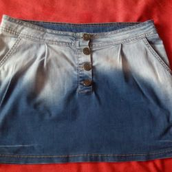 Denim Skirt Gloria