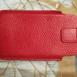 New genuine leather case
