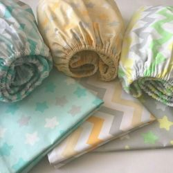 Sheet and pillowcase