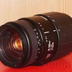 Canon EF Sigma 70-300 f.4-5.6 macro telephoto lens