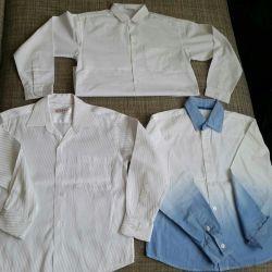 School shirts 122-128r.