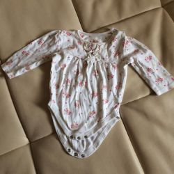 Body for girl 6-12 months