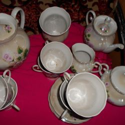 Tea-coffee service for 6 people