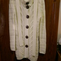 Knitted cardigan p 44