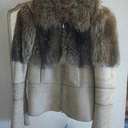 Sheepskin παλτό Τουρκία