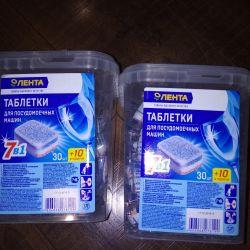 Tablets for dishwashers.