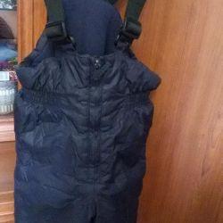 Winter pants 80 cm