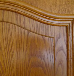 Interior doors, 3 pcs, Sweden, oak, veneer / solid
