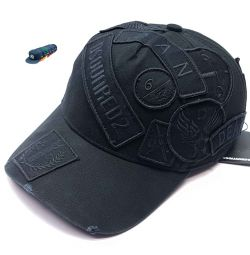 Dsquared 2 Dean Baseball Cap (Black)