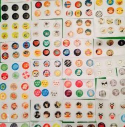 Buttons for iPad and iPhone / stickers