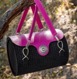 Italian leather bag