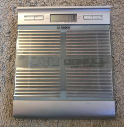 Electronic bathroom scales of Bosh PPW6440
