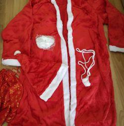 Suit Santa Claus Fur New