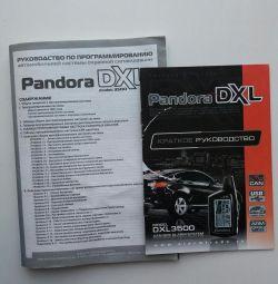 Pandora DXL 3500 Manual de instrucțiuni