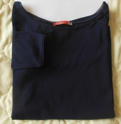Bluză nouă de tricou Jument albastru + original