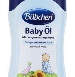 Bubchen масло для младенцев 400мл