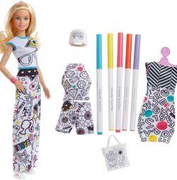 Кукла Барби - раскраска оригинал США новая коробка