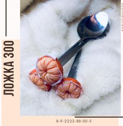 Κουτάλι δώρο κούπα διακόσμηση πολυμερούς πηλό