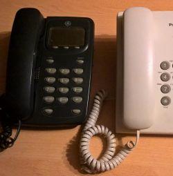 Стаціонарні Кнопкові телефони Atlinks, Panasoniс