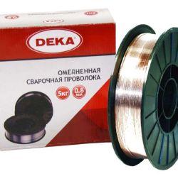 проволока сварочная 0.8 мм по 15 кг ДЕКА