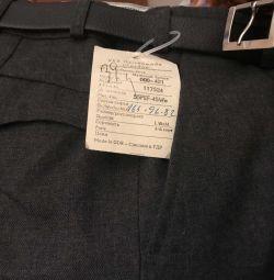 Нові штани шерсть 45% разм 48, довжина 100 см
