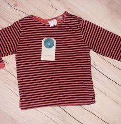 Longsleeve Zara pentru copii mici 9-12 luni noi