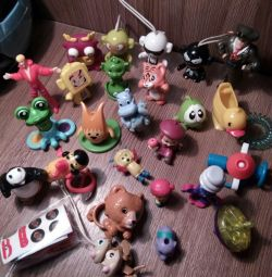Киндер игрушки 5