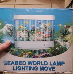 lampă - acvariu