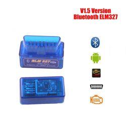 Адаптер V1.5 OBD2 ELM327 Bluetooth Версія 1.5