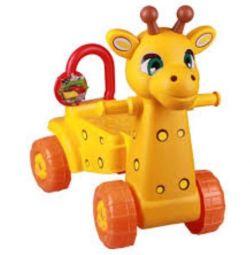 Детская каталка-жираф