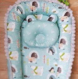 Шью на заказ гнездышки для новорожденных.