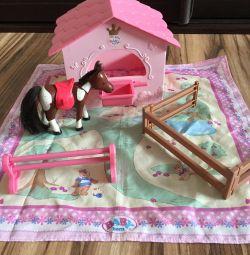 Beby born game set