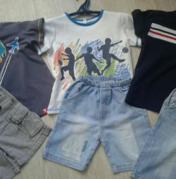 Shorts and soccer., Р.104 см