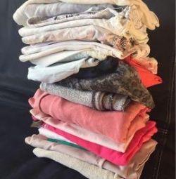 Îmbrăcăminte și încălțăminte pentru o fată de 6-14 ani