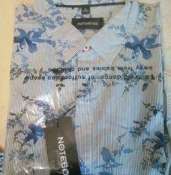 Nouă cămașă de bărbați elegantă, de 50 de ani