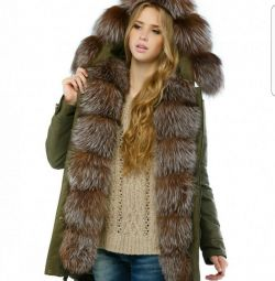 Chic park new natural fur original