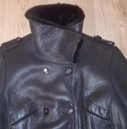 Hakiki koyun derisi ceket Vito Ponti