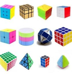 NEW CUBES Transformers