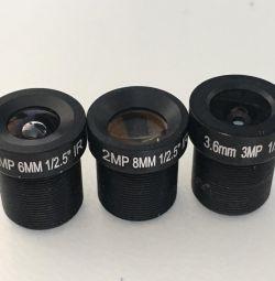 Lens lens for surveillance cameras 6mm 8mm 3.6mm